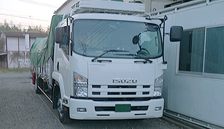 平ボディ車(4t)